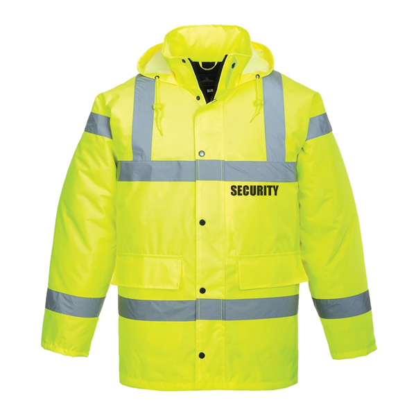 High Visibility Jacket - Security